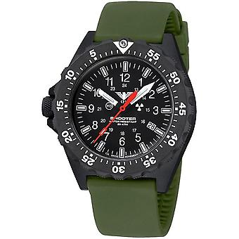 KHS Shooter MKII with silicone band olive - KHS. SH2HC. in any case