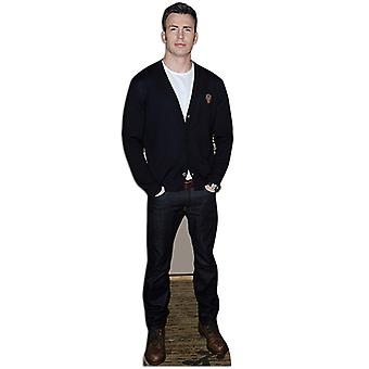 Chris Evans Lifesize Cardboard Cutout / Standee/ Stand Up