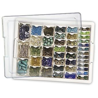Elizabeth Ward's Assorted Bead Tray 13.75