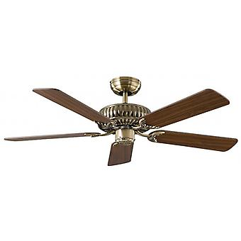 Low energy ceiling fan Eco Imperial Brass antique 132 cm / 52