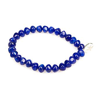 View marble look bracelet Royal Blue