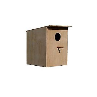 Dvärgpapegoja/liten undulat Box med lyfta av locket 25x21x20cm