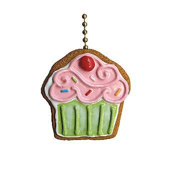 Cupcake Cookie Bakery Sweet Shop Ceiling Fan Light Pull