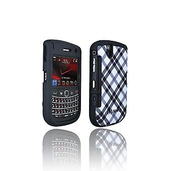 Speck Plaid Case til BlackBerry Bold 9650 / Tour 9630 (sort & hvid)