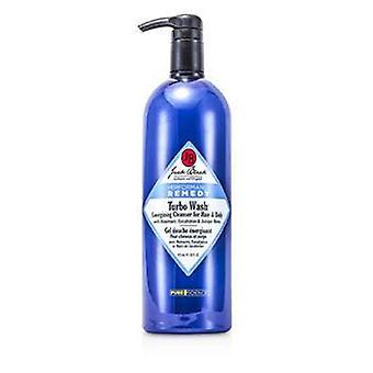 Jack Black Turbo Wash energizzante detergente per capelli e corpo - 975ml / 33oz
