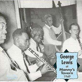 George Lewis - på Manny's Tavern 1949 [CD] USA import