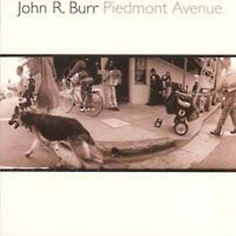 John R Burr - Piedmont Avenue [CD] USA import