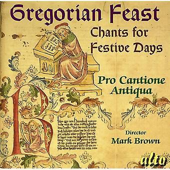 Pro Cantione Antiqua - gregorianska fest: Ramsor för festliga dagar [CD] USA import