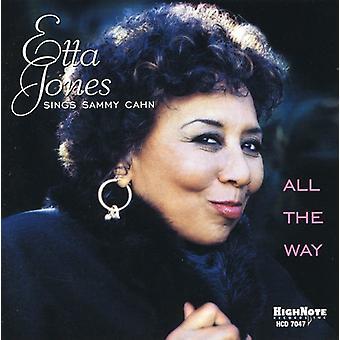 Etta Jones - alle måde-Etta synger Sammy C [CD] USA importen