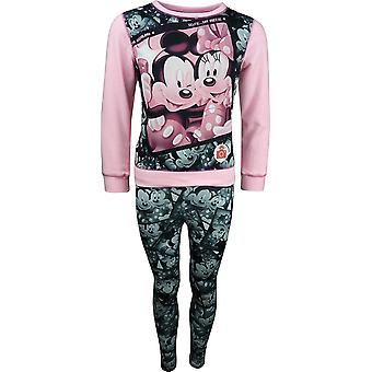 Disney Minnie Mouse Girls 2 Piece set Sweatshirt & Leggings PH1288