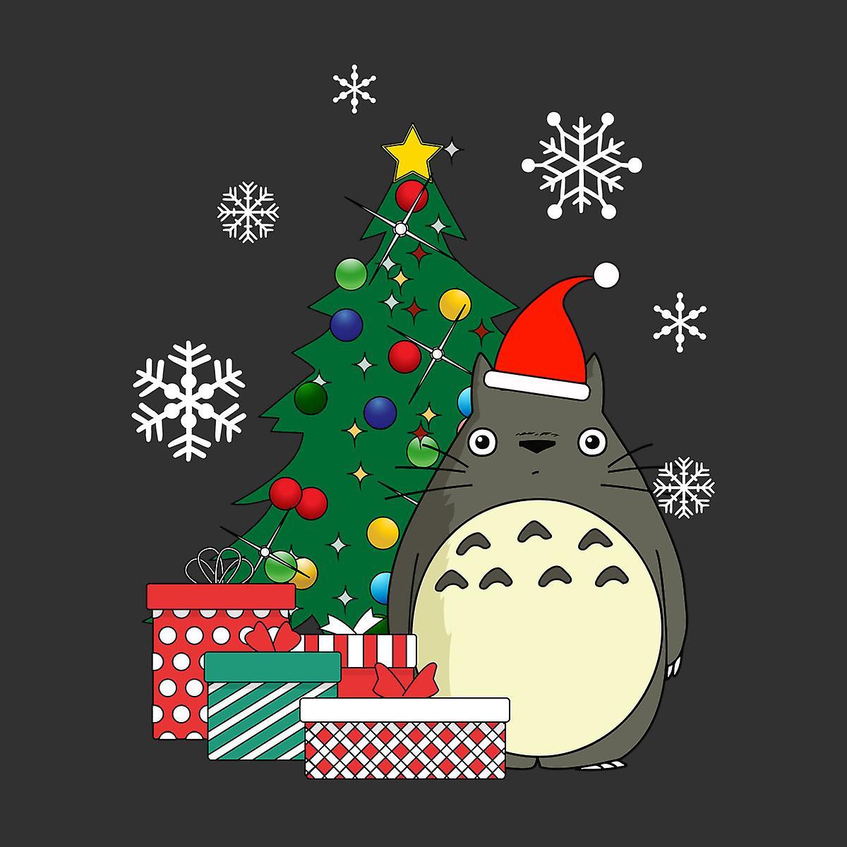 Totoro Christmas Tree Studio Ghibli Kid S Sweatshirt Fruugo