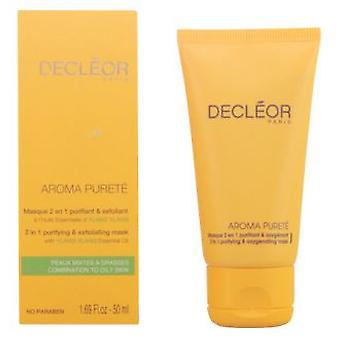 Decléor Paris Aroma Purete Masque 2 En 1 Purifiant & Exfoliant 50 Ml