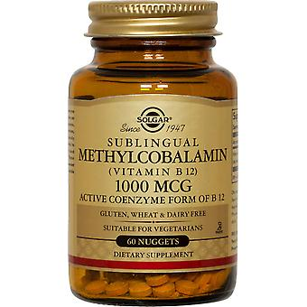 Solgar Methylcobalamin (Vitamin B12) 1000 mcg Nuggets 60ct