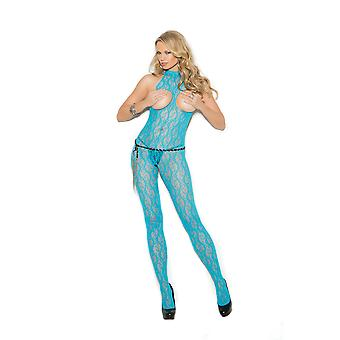 Elegant Moment EM-1303 Lace bodystocking with open bust and crotch