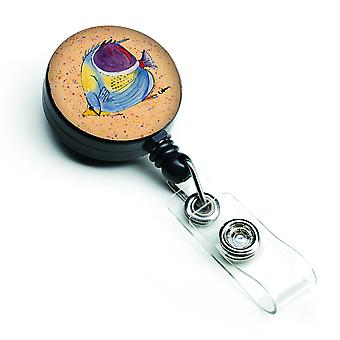 Carolines Treasures  8529BR Tropical Fish Retractable Badge Reel