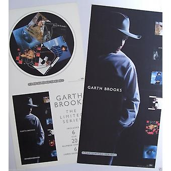 Garth Brooks The Limited Series Banner Style Dual Sided Poster