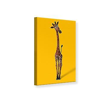 Canvas Print Sweety Giraffes