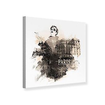 Canvas afdrukken Parijs Model