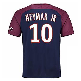 2017-18 Psg Home Shirt (Neymar  Jr 10)