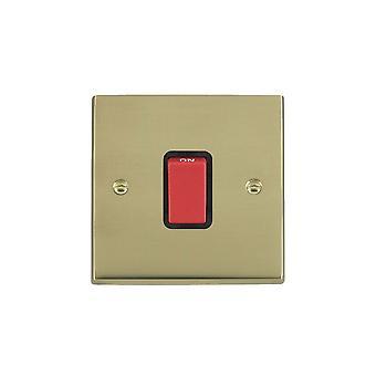 ハミルトン Litestat ・ チェリトン ビクトリア朝の洗練された真鍮 1 g 45A 二重極赤 Rkr/BL