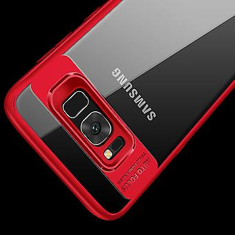 Ultra slim case for Samsung Galaxy A8 plus 2018 mobile case protection cover Red