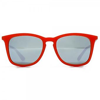 Ray-Ban Junior Square Keyhole Sunglasses In Red