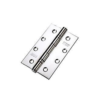Zoo Slim Knuckle Bearing Hinge - SS201 - Polished Stainless - ZHSS63P