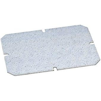 Fibox 5518026 TEMPO MP 3429 Mounting Plate For TEMPO Galvanised steel (1.5 mm) (L x W) 315 mm x 265 mm Galvanized