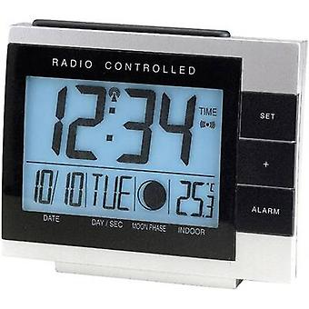 Radio Alarm clock Techno Line 02335 WS 8055 Silver-black