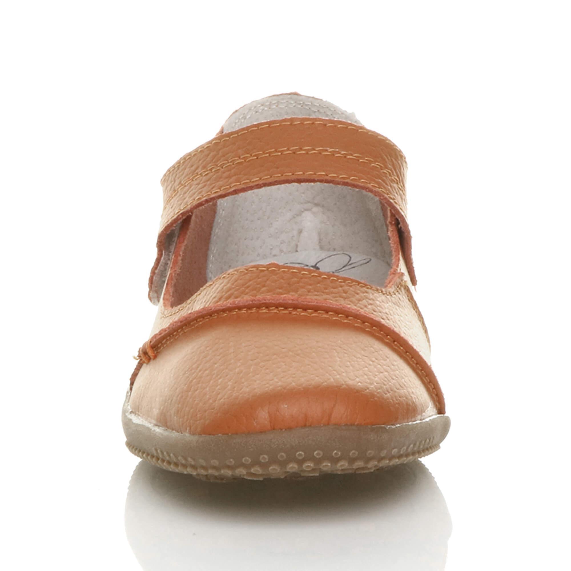 ajvani  s s s plein confort hook & boucle en cuir chaussures marche décontracté. f9aaa2