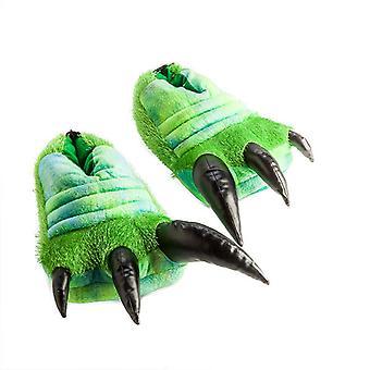Brüllende Dinosaurier-Hausschuhe