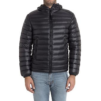 C.p. company men's MOW061A005073A999 black polyamide Quilted Jacket
