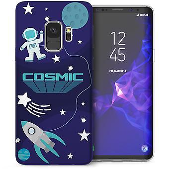 Samsung Галактика S9 космического пространства гель ТПУ - синий