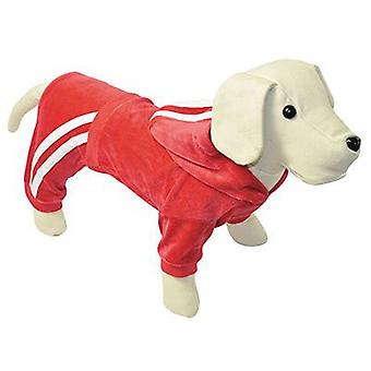 Nayeco Red Velvet Chandal dog 50 cm (Dogs , Dog Clothes , Sweaters and hoodies)