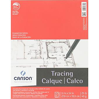 Canson Foundation Series Tracing Paper Pad 11