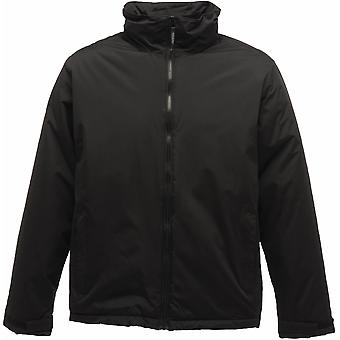 Regatta Mens Classic Shell Waterproof Jacket with Concealed Hood TRW470 Black