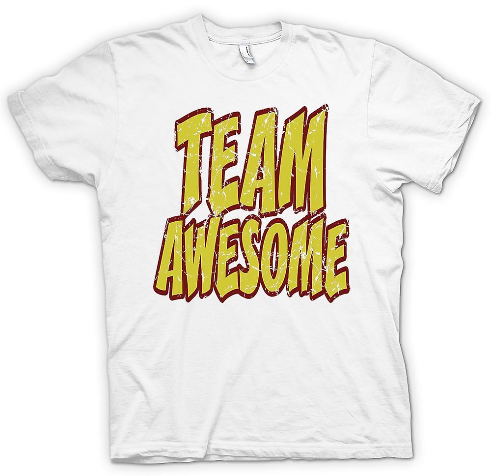 Womens T-shirt - Team geweldig - Funny