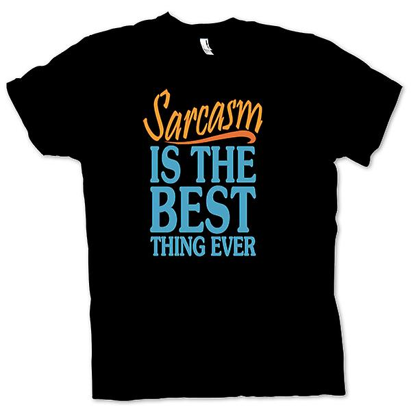 Womens T-shirt - Sarcasm Is The Best Thing Ever - Funny