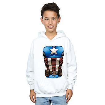 Marvel Boys Captain America Chest Burst Sweatshirt