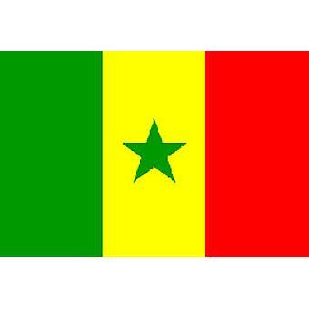 Senegal fahne 5 ft x 3 ft mit Ösen