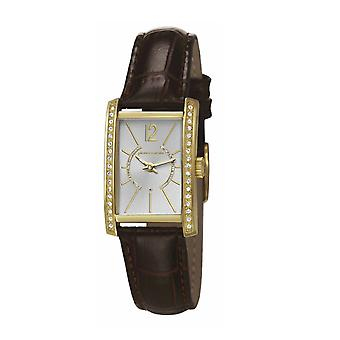 Pierre Cardin ladies watch bracelet watch LA tête d'Or leather PC106562F09