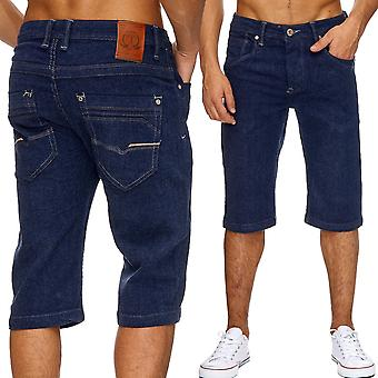 Men's jeans shorts classic men's washed short trousers summer Capri Cargo