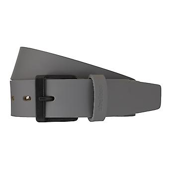 Strellson belts men's belts leather belt grey 5956