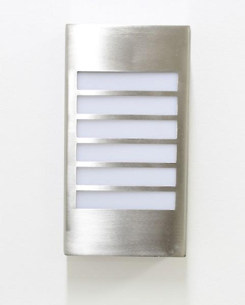 LED Wall lamp, IP44, 6 W, 6250 K Daylight White, Lucie 10426