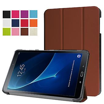 Smart cover bag Brown for Samsung Galaxy tab A 10.1 T580 / T585 2016