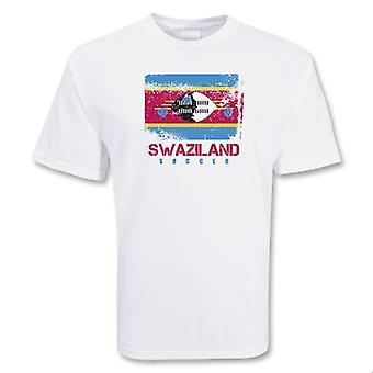 Swaziland Soccer t-skjorte