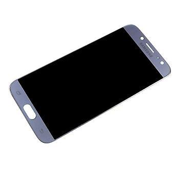 Na ekranie LCD Samsung Galaxy J7 - SM-J730 - błękitno-srebrny