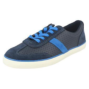 Boys Clarks Casual Shoes Club Walk