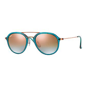Ray - Ban RB4253 Large Turquoise gloss/Bronze mirrored copper gradient