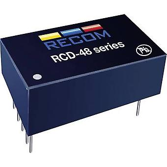 LED controller 700 mA 56 Vdc Analog dimming, PWM dimming Recom Lighting RCD-48-0.70/W Max. operating voltage: 60 Vdc